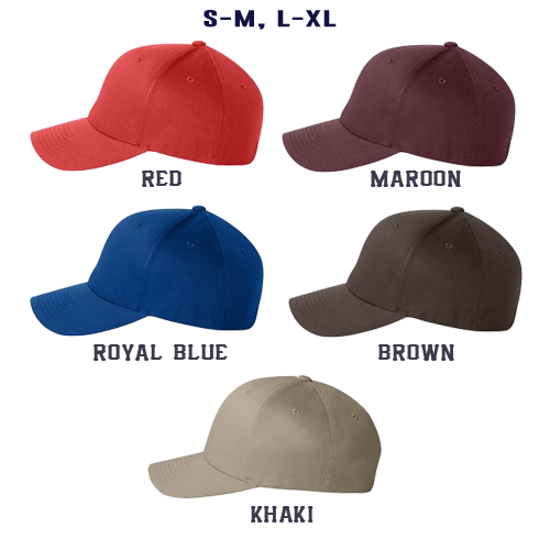 3 Line Custom Hat - Flexfit
