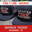 Fire 3 Line - Arched - Custom Hat - Snapback Trucker