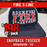 Fire 3 Line Custom Hat - 12 pack Snapback Trucker