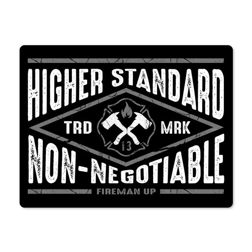 Higher Standard - Sticker
