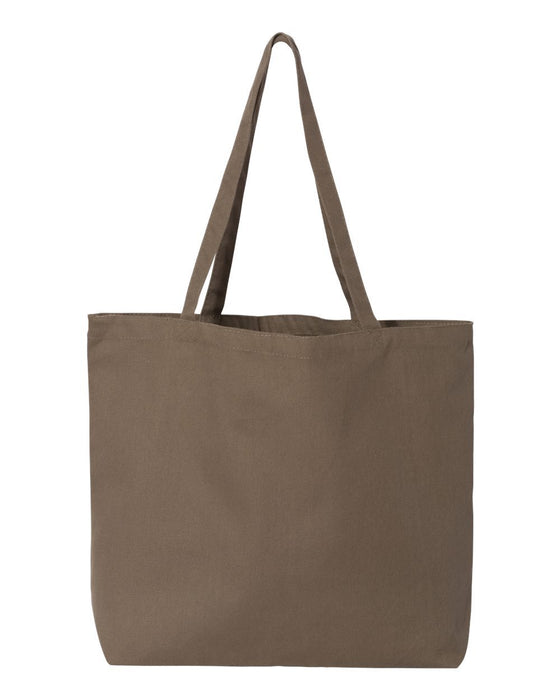 FireWIFE up Circle Logo - Large Canvas Tote