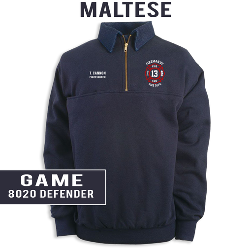 Custom Maltese - Game 8020 Defender Job Shirt