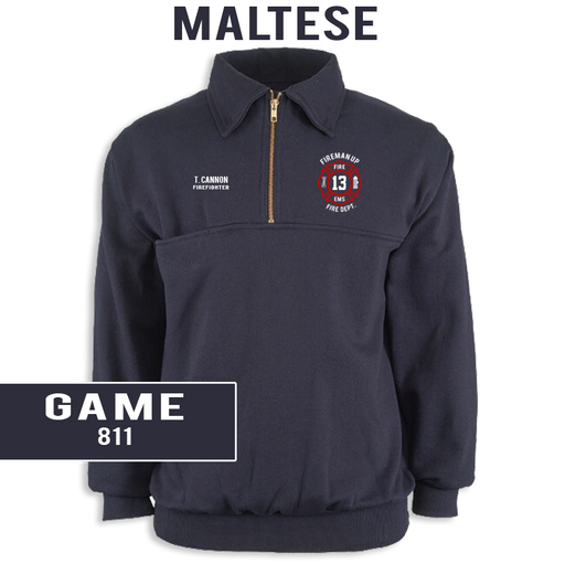 Custom Maltese - Game 811 Job Shirt