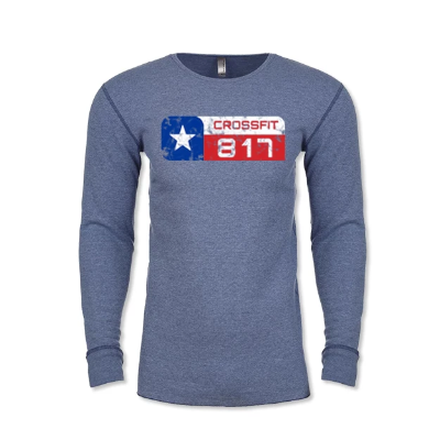 CrossFit 817 Distressed Logo Thermal