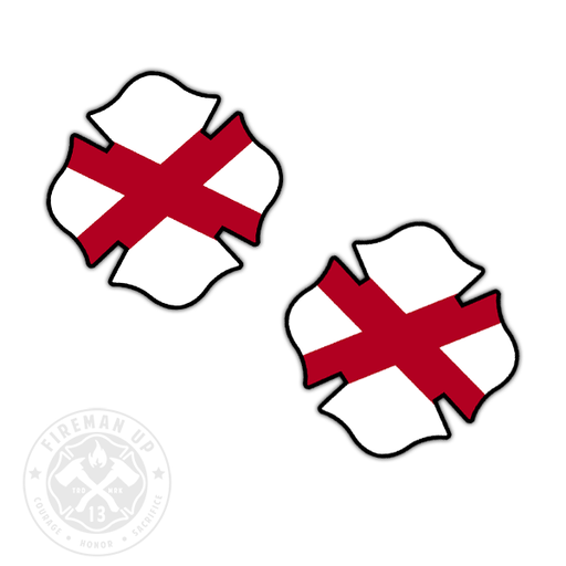 "Alabama Flag Fire Maltese - 2"" Sticker Pack"