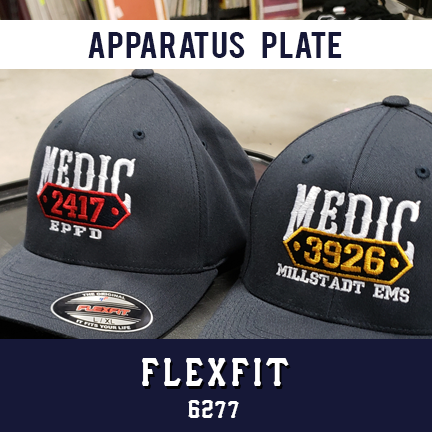 Apparatus with Plate Custom Hat - Flexfit