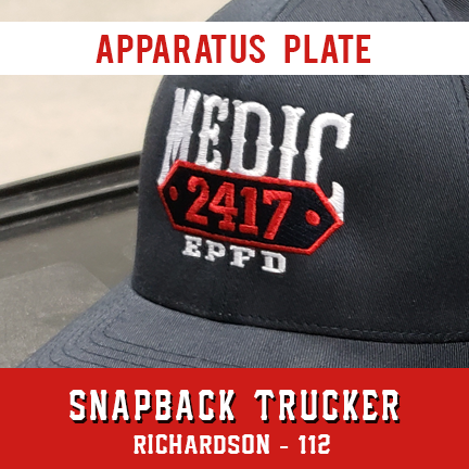 Apparatus with Plate Custom Hat - Snapback Trucker