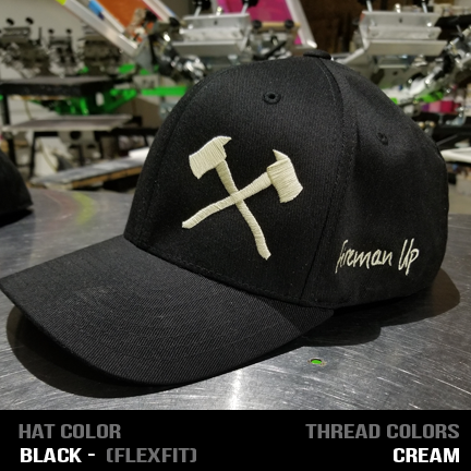 Axes - Custom Hat - Flexfit