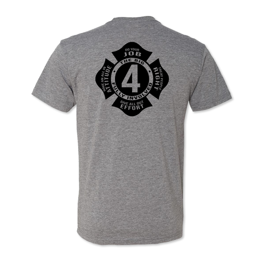 Big 4 Maltese - Men's Tri Blend Tee