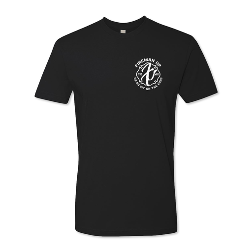 Black & White Collection - Fireman Up Traditional Tee