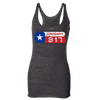 CrossFit 817 Distressed Logo Racerback Tank