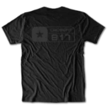 CrossFit 817 Alternate Flag Logo Tee Unisex