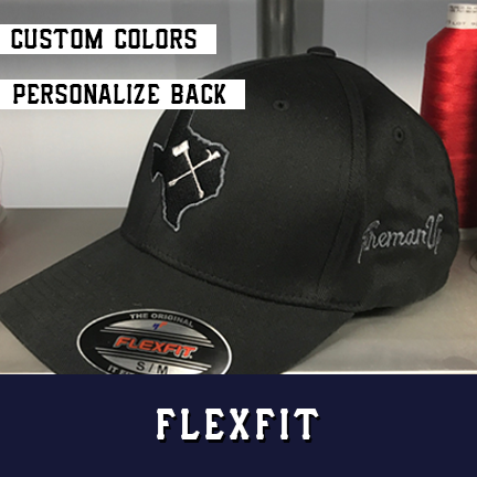 Texas Irons - Custom Hat - Flexfit