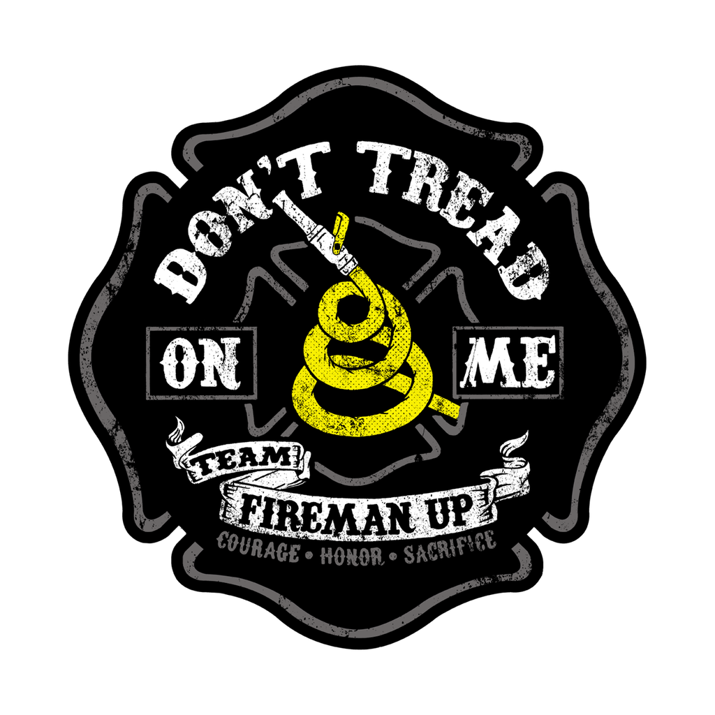 "Don't Tread on Me - 4"" Sticker"