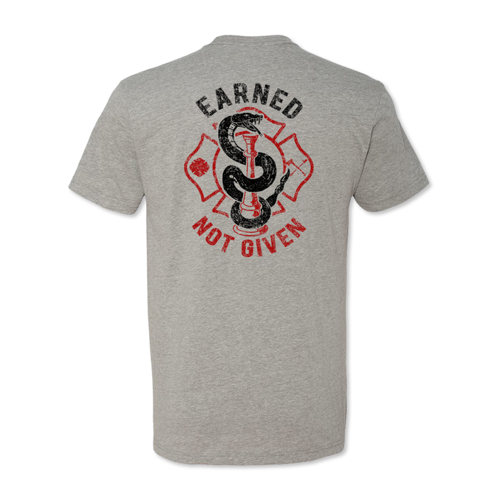 Earned Not Given - Bugle - Poly Cotton Blend Tee