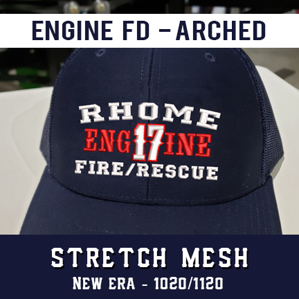 Engine FD Arched Custom Hat - New Era Stretch