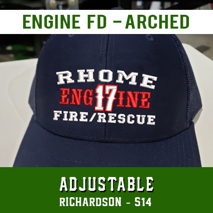 Engine FD Arched Custom Hat - Adjustable