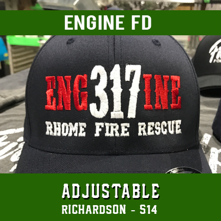 Engine FD Custom Hat - Adjustable