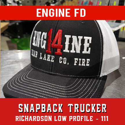 Engine FD Custom Hat - Snapback Trucker Low Profile