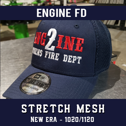 Engine FD Custom Hat - New Era Stretch