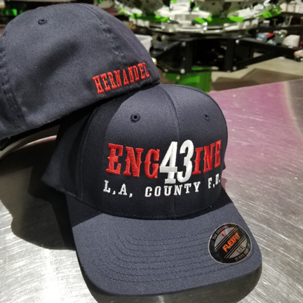 Engine FD Custom Hat - Flexfit