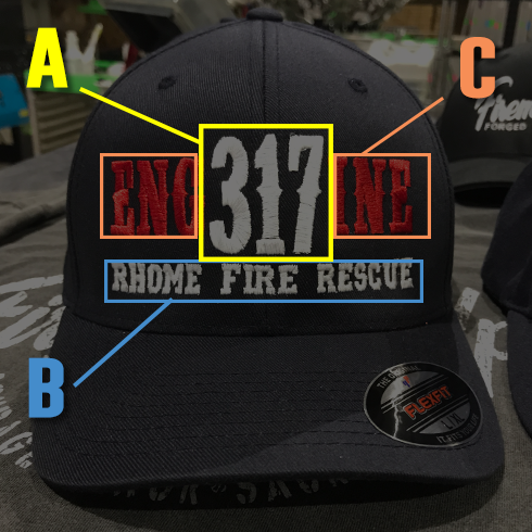 FD Ladder Custom Hat - Snapback Trucker
