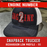 Engine Number Outlined Custom Hat - Snapback Trucker Low Profile