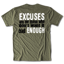 CrossFit 817 Excuses Tee Unisex