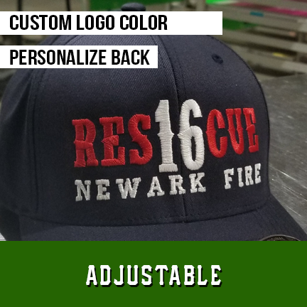FD Rescue Custom Hat - Adjustable