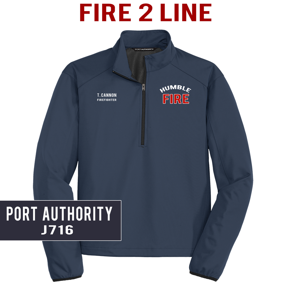 Fire 2 Line - Port Authority - Active 1/2-zip Soft Shell Jacket