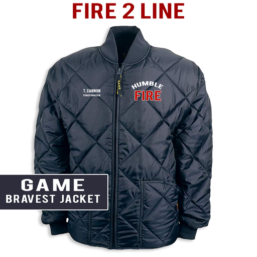 Fire 2 Line - The Bravest Jacket