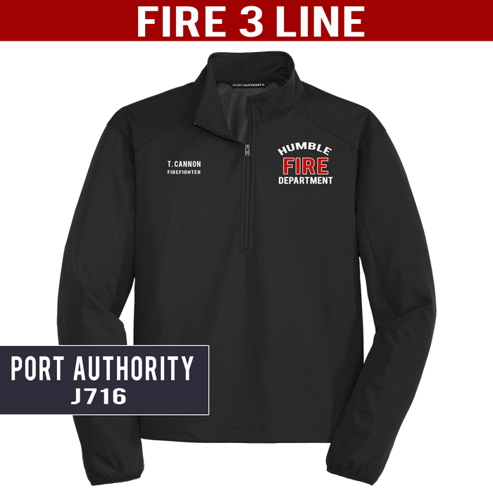 Fire 3 Line - Port Authority - Active 1/2-zip Soft Shell Jacket