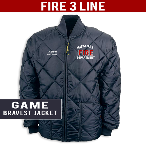 Fire 3 Line - The Bravest Jacket