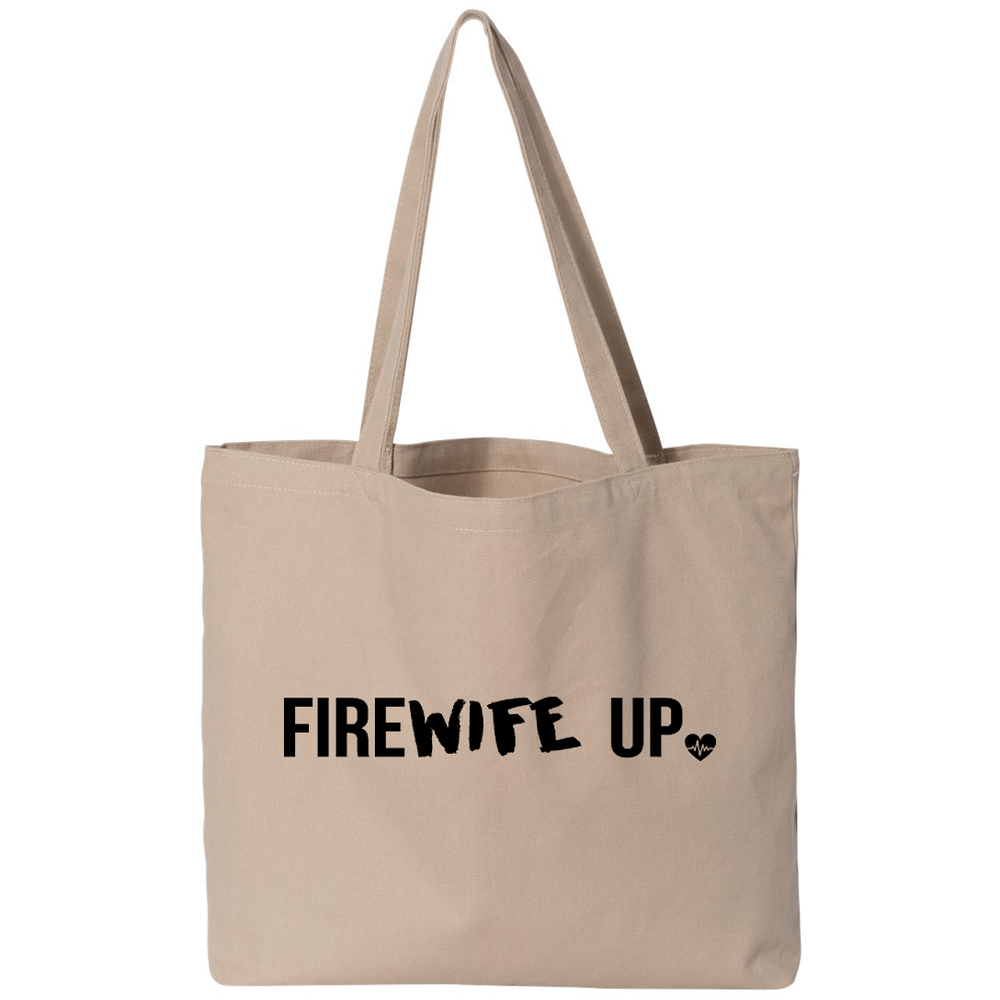 FireWIFE up - Small Canvas Tote