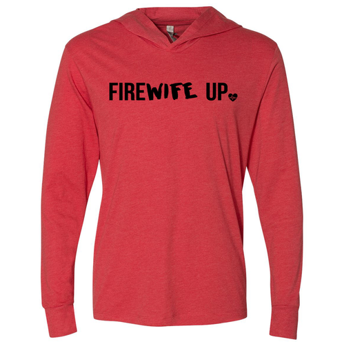 FireWIFE up - Unisex Hooded Pullover Tee