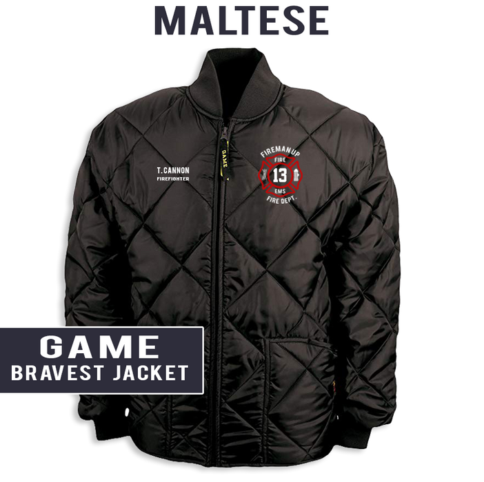 Custom Maltese - The Bravest Jacket