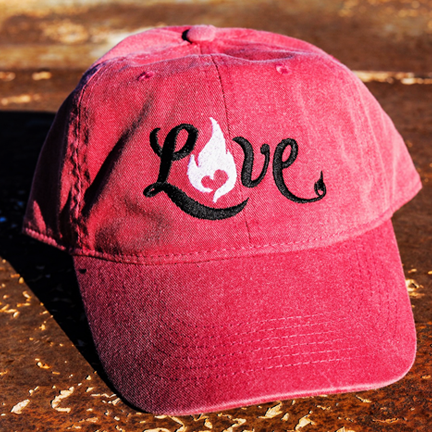 LOVE - Comfort Colors - Fireman Up Hat