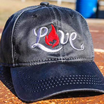 LOVE - Fireman Up Hat - Adjustable