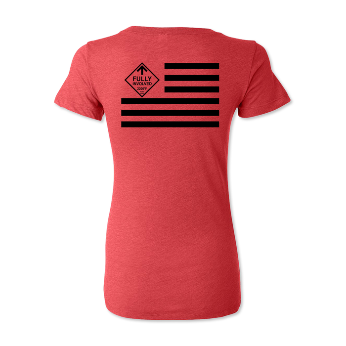 Fully Involved Flag - Women's Tee