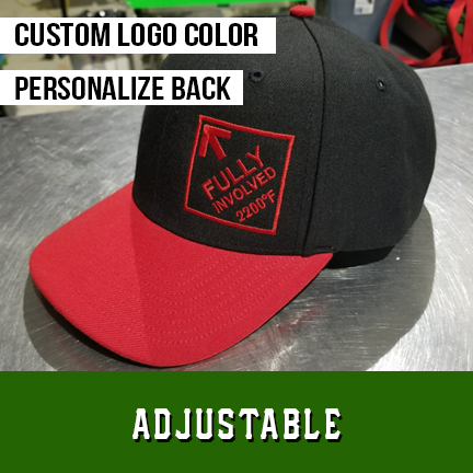 Fully Involved Logo Custom Hat - Adjustable