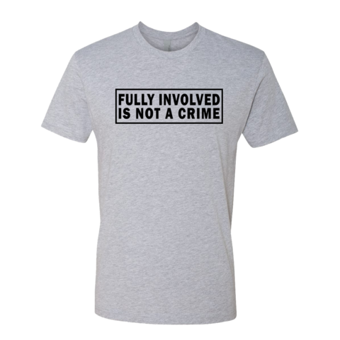 Not A Crime - Men's Cotton Tee