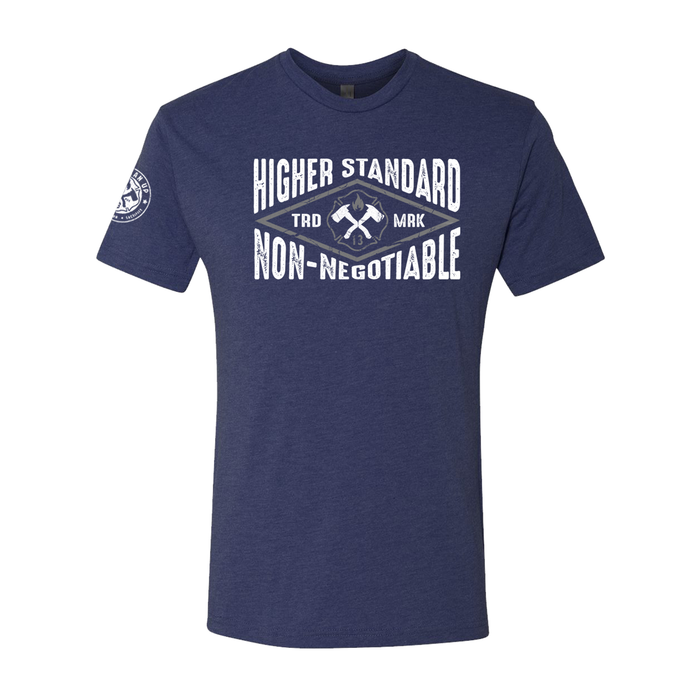 Higher Standard - Men's Tri Blend Tee