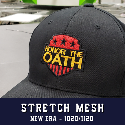 Honor the Oath Logo - New Era Stretch Mesh