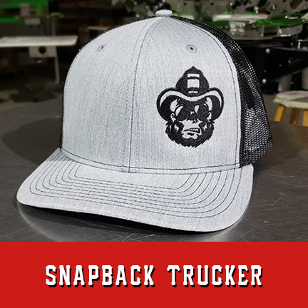 Hose Monkey Logo Custom Hat - Snapback Trucker