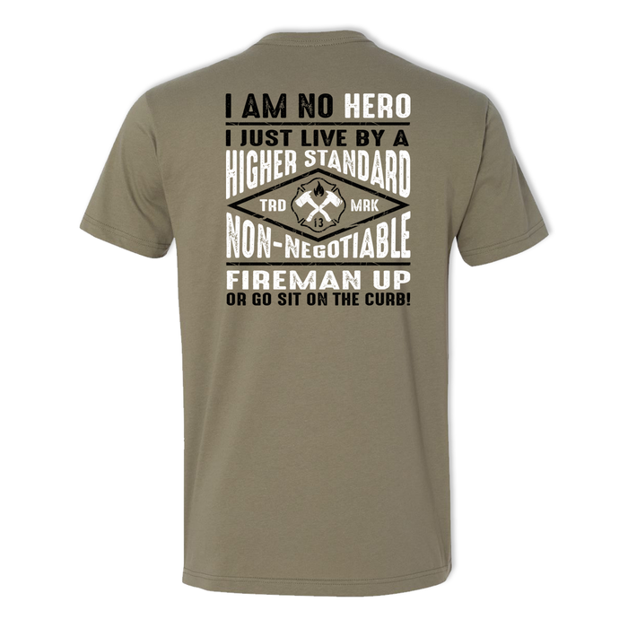 No Hero - Men's Cotton Tee