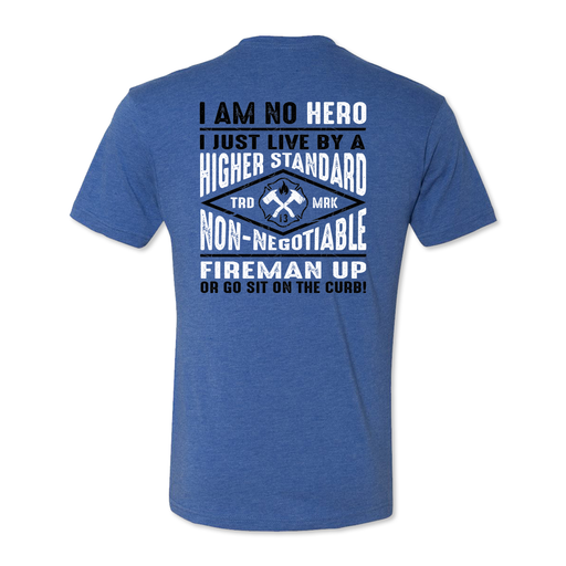 No Hero - Men's Tri Blend Tee