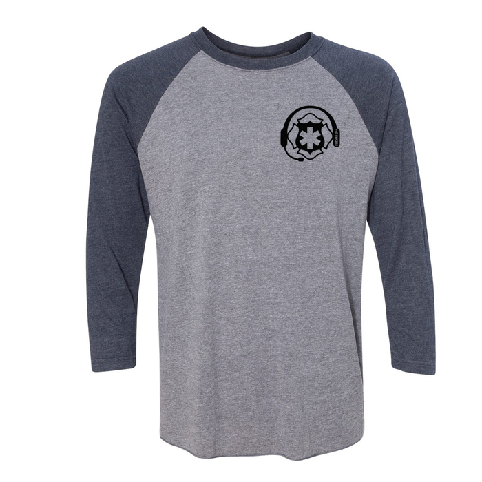 No One Fights Alone - Unisex Three-Quarter Sleeve Raglan