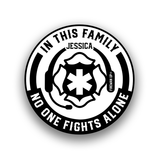 No One Fights Alone (JESSICA) - Sticker