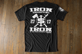 Iron Sharpens Iron - Tri-blend Black