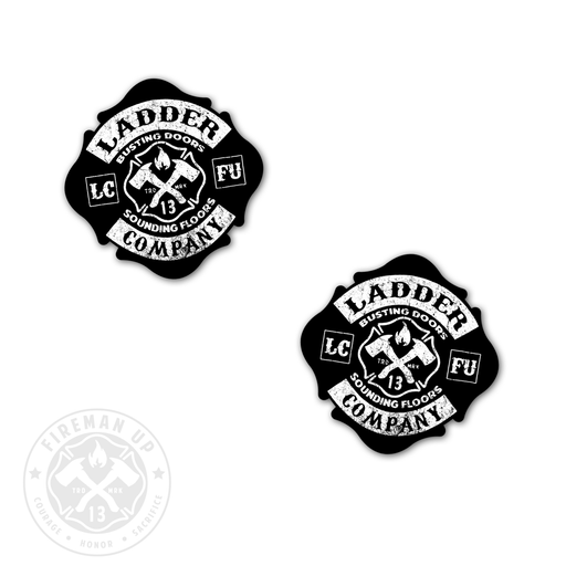 "Ladder Company Maltese - 2"" Sticker Pack"